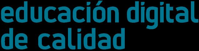 logotipo educación digital de calidad