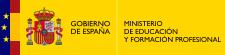 Logotipo del Ministeriode Educación y Formación Profesional