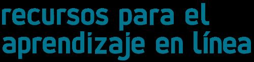 logotipo recursos aprendizaje en linea