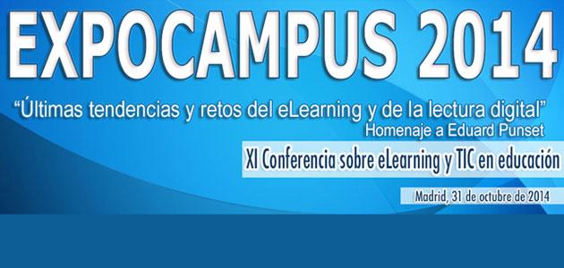 Expocampus 2014. Tendencias y Retos del eLearning y la lectura digital