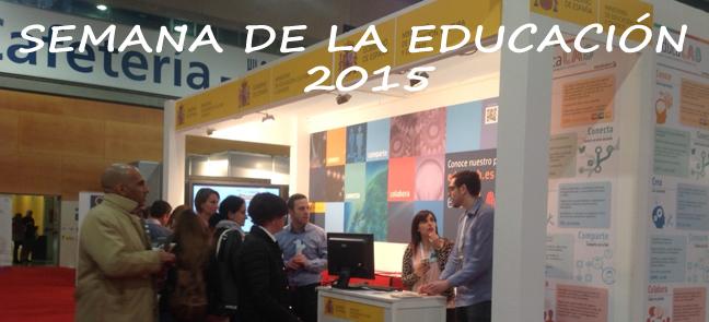 El INTEF en la Semana de la Educación 2015