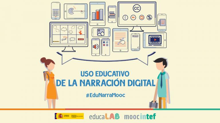 """Abierta la inscripción en el MOOC """"Uso educativo de la narración digital"""""""