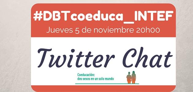 Twitter chat – Coeducación: dos sexos en un solo mundo