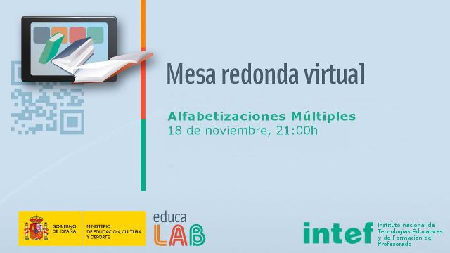 Mesa redonda virtual del curso Alfabetizaciones Múltiples