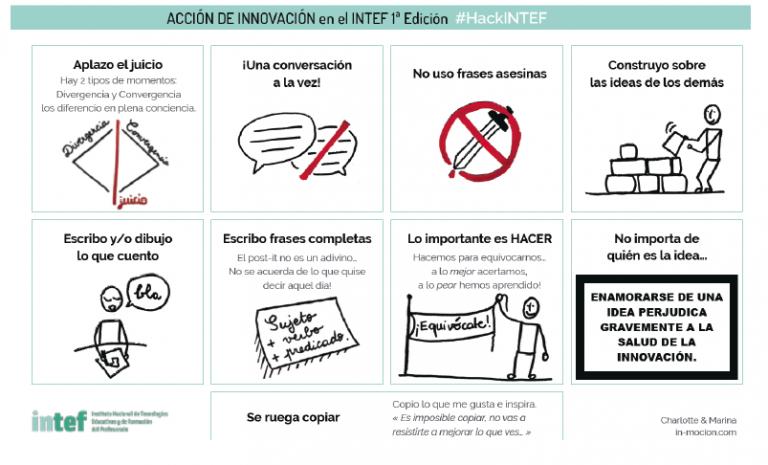 Presentada la candidatura de HackINTEF a los Premios del Congreso Nacional de Innovación y Servicios Públicos