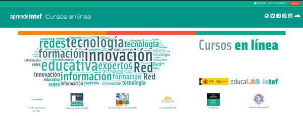 Portada de http://formacion.educalab.es