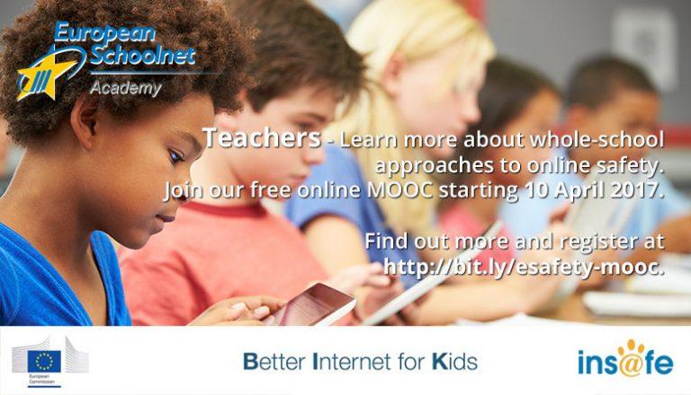 Nuevo MOOC de EUN Academy: Online Safety