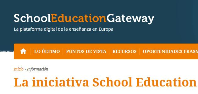 School Education Gateway quiere mejorar y nos pregunta