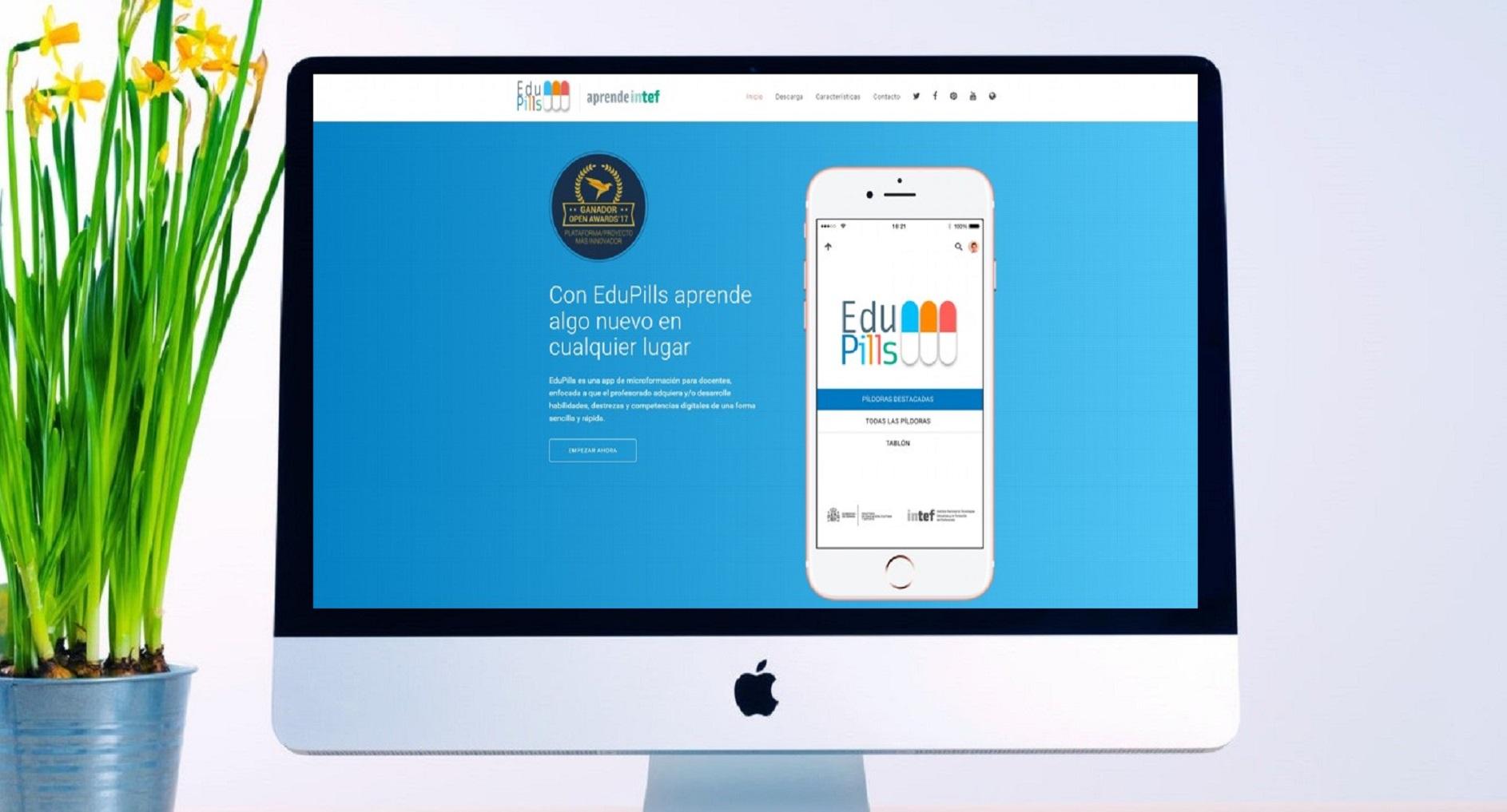 Nueva actualización de EduPills, la app de autoformación de Aprende INTEF