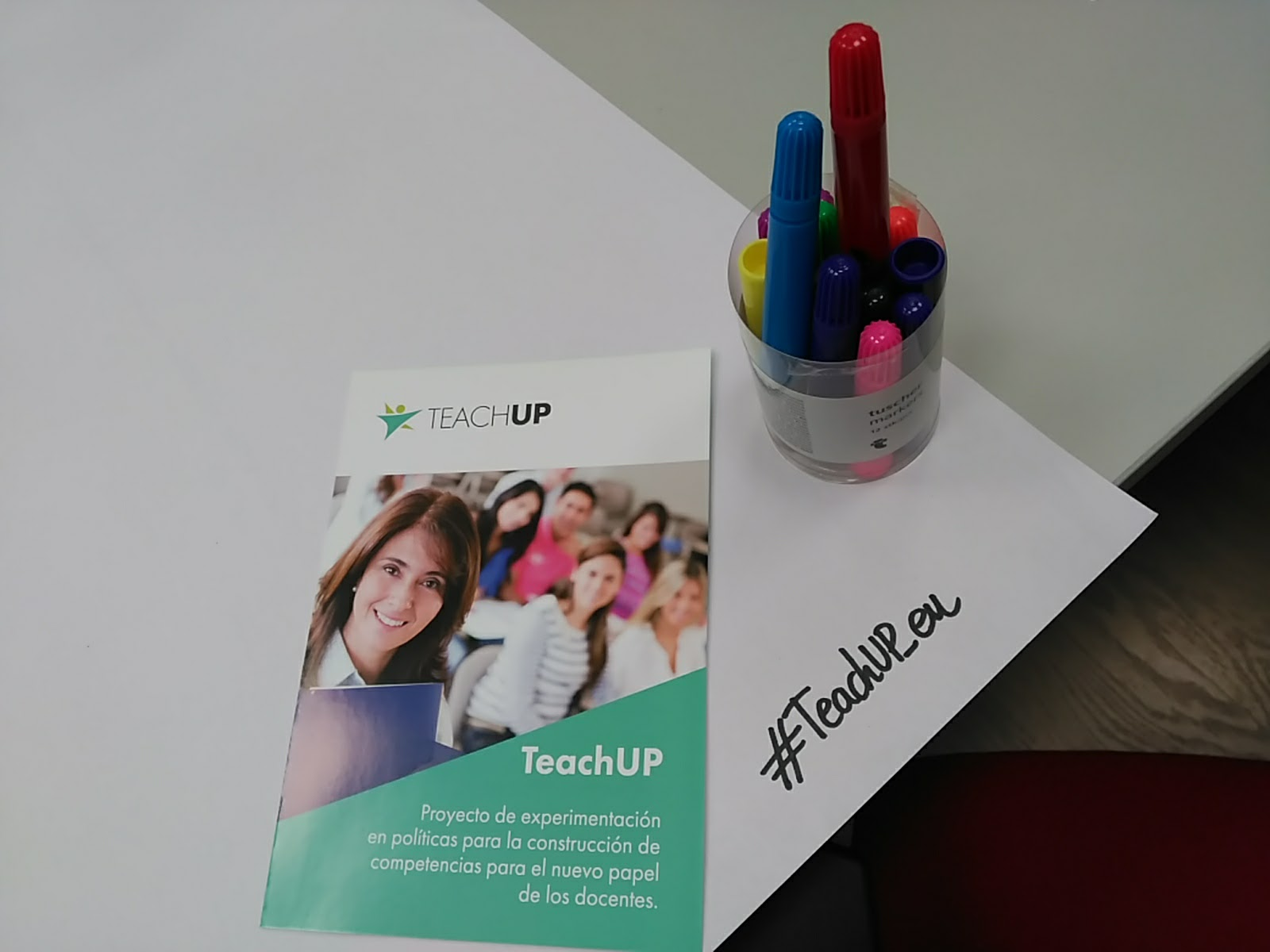 TeachUP, First Country Dialogue Lab in Spain