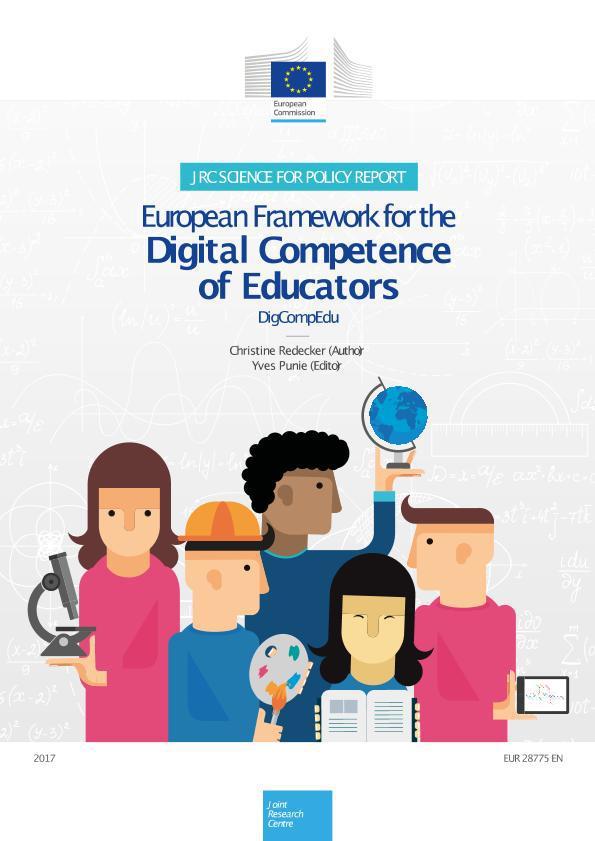 Comparativa Marco Competencia Digital Docente (INTEF. Versión Octubre 2017) y Marco Europeo DigCompEdu (JRC-Sevilla. Versión Diciembre 2017)