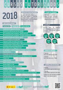 Poster información cursos tutorizados 2018