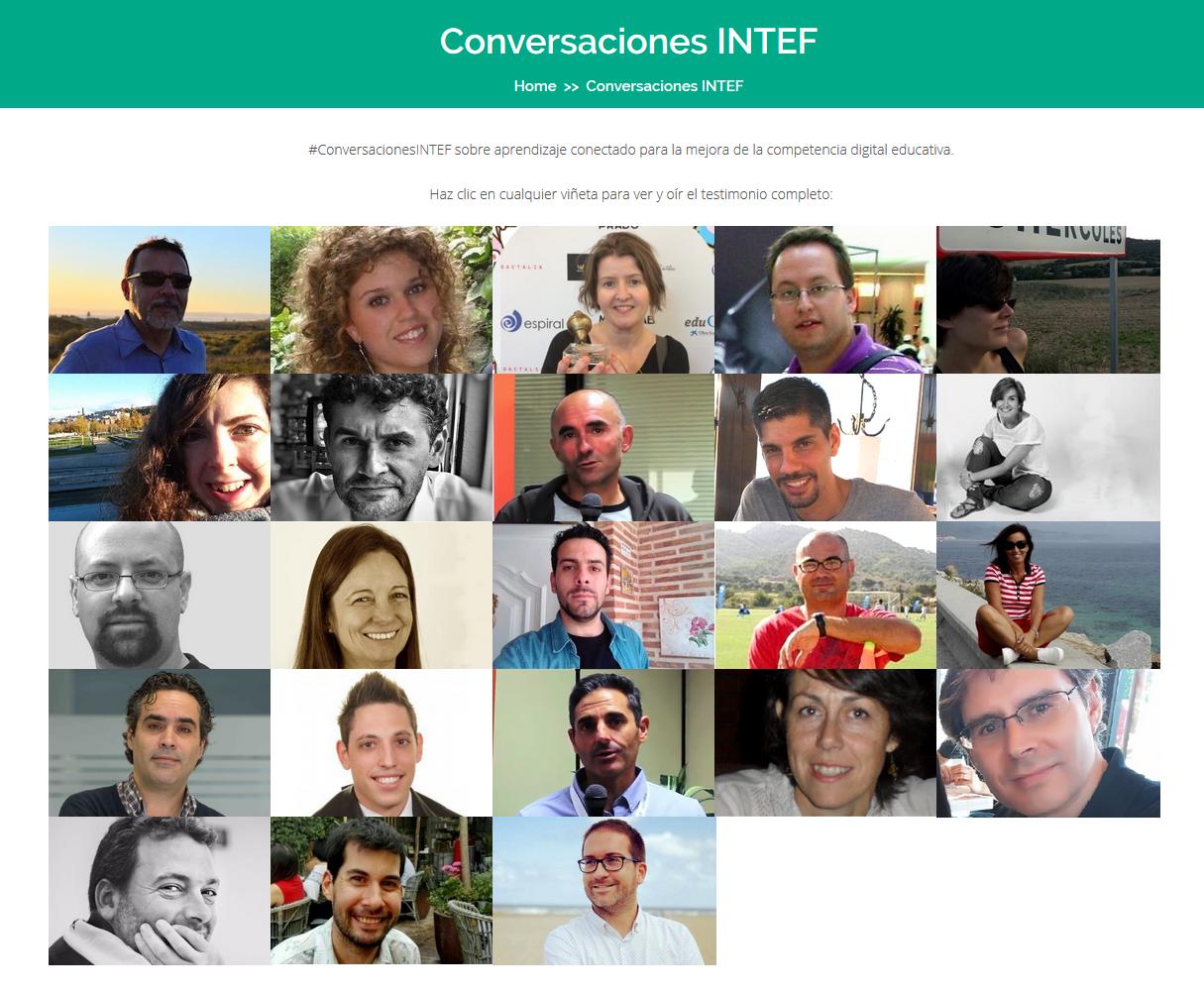 Presentamos 'ConversacionesINTEF' sobre aprendizaje conectado para la mejora de la competencia digital educativa