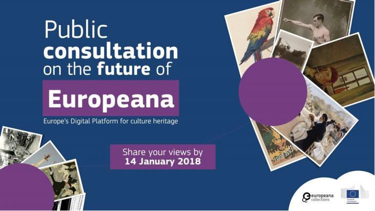 Europeana, el portal de la cultura europea en línea. Consulta UE