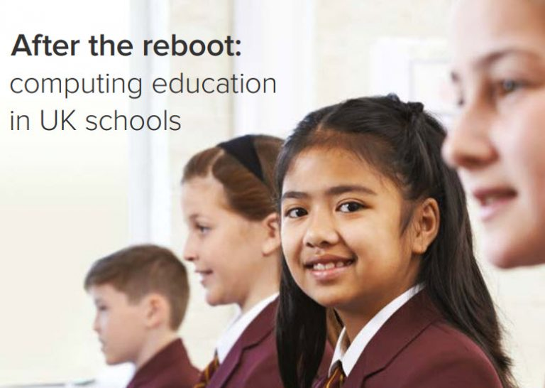"Informe INTEF ""After the reboot: computing education in UK schools"""