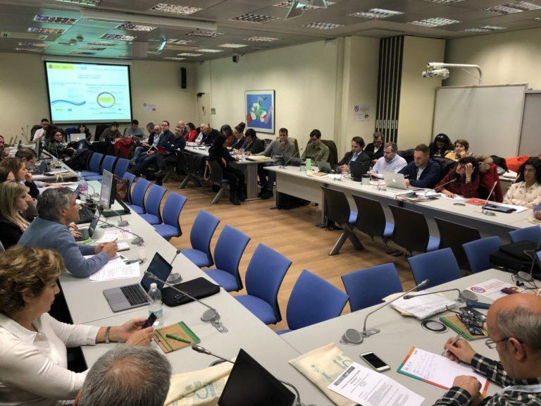 Sesión de trabajo de la Ponencia de Competencia Digital Educativa. Marzo 2018