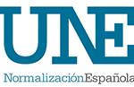 logo de UNE (Una Norma Española)