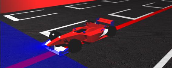 Un coche F1 autónomo que puede programarse en el simulador