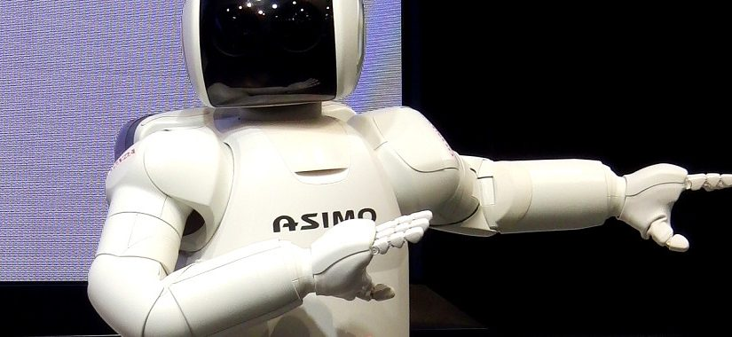 Coreografía de baile con robots