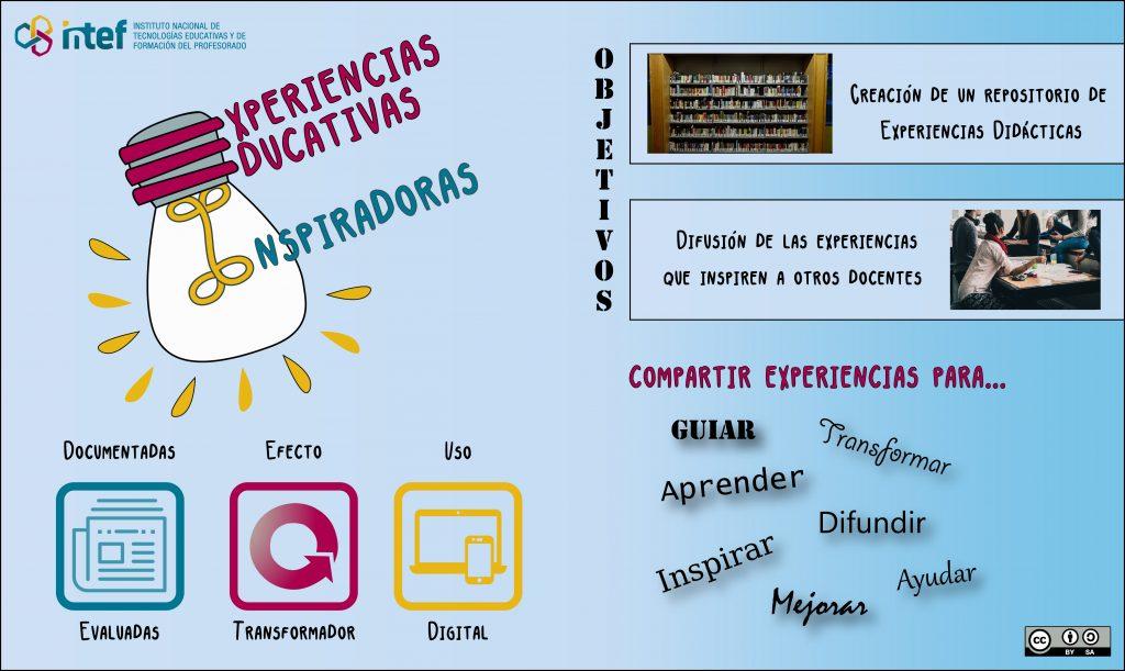 presentación proyecto experiencias educativas inspiradoras intef