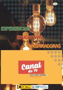 Portada del Proyecto Canal de TV del CEIPS Santo Domingo