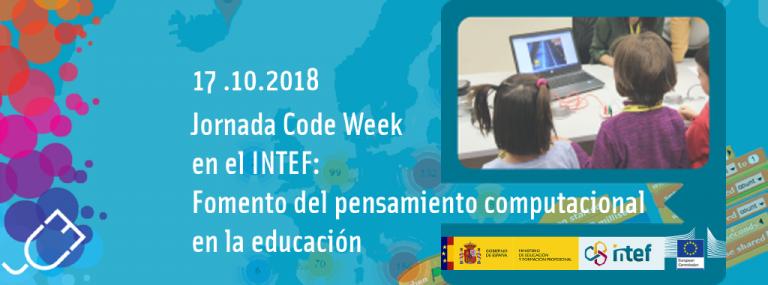Ven al INTEF para celebrar la CodeWeek 2018