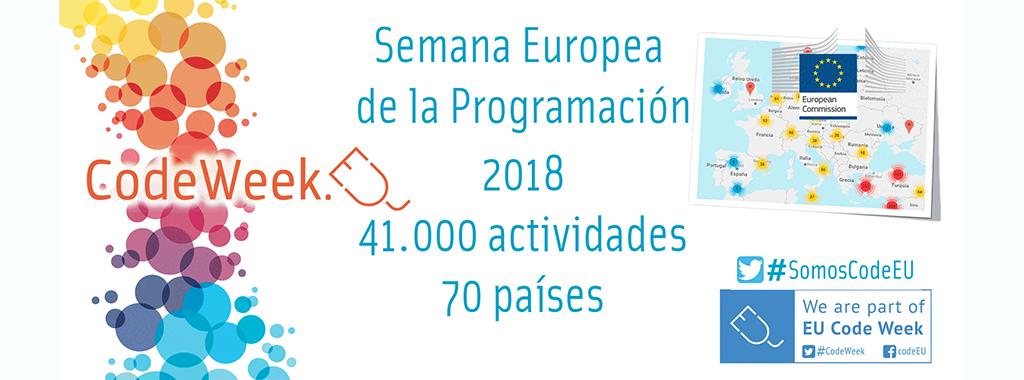 Code Week 2018: España marca un nuevo récord de participación
