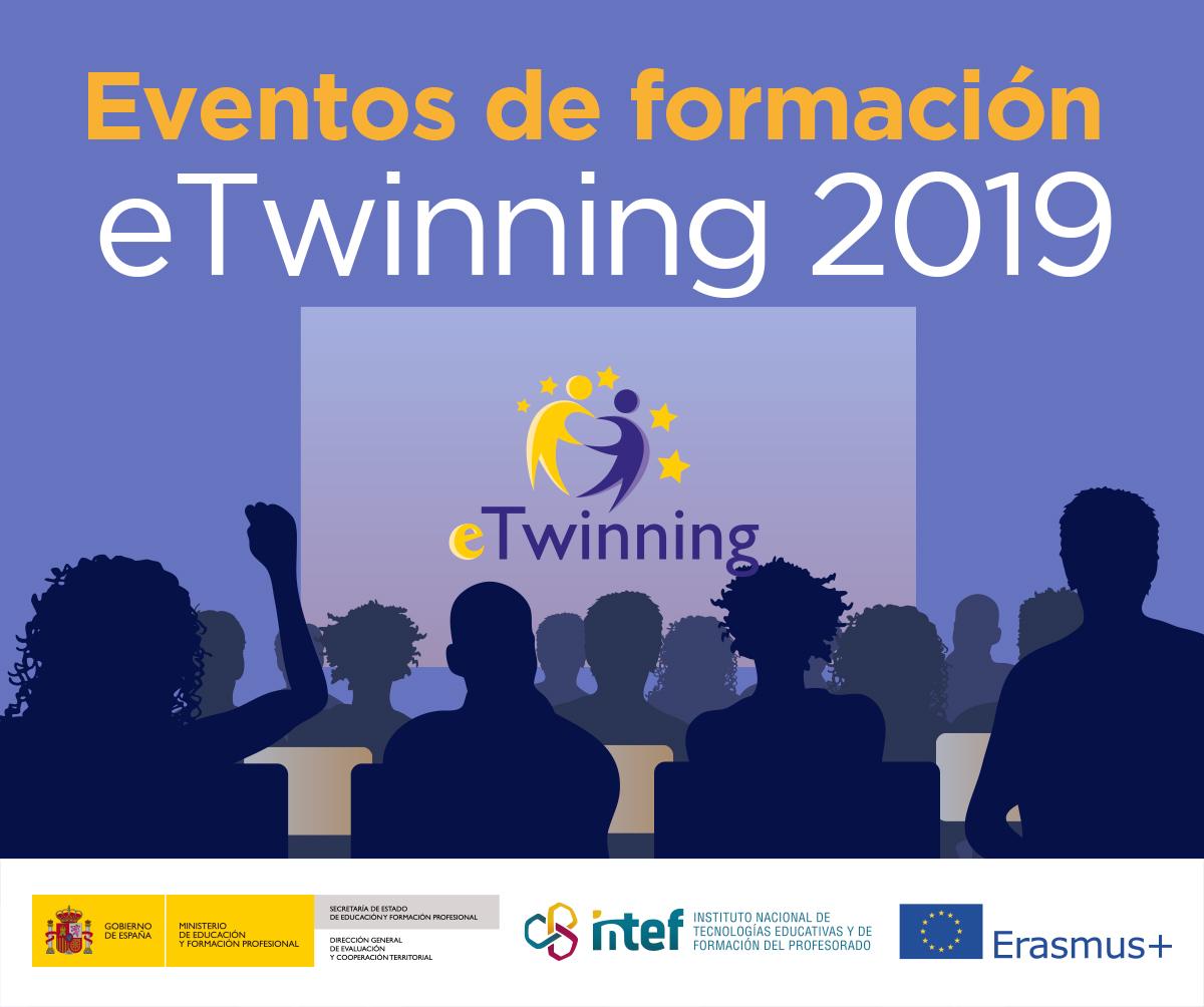 Convocatoria de eventos de formación eTwinning 2019