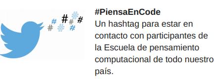 hashtag PiensaEnCode