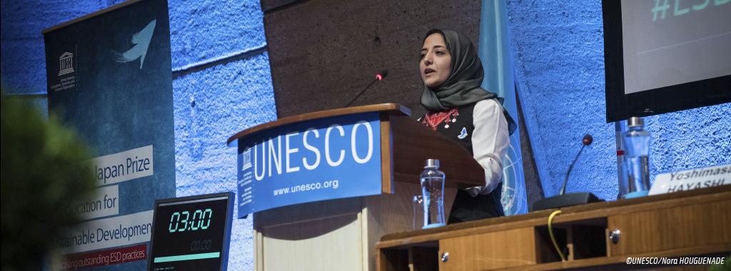 Premio UNESCO-Japón de Educación para el Desarrollo Sostenible