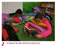 El placer de leer entre los alumnos