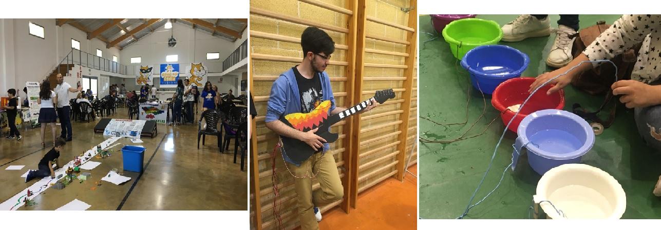 Proyectos Makey Makey realizadas por alumnado de 4º ESO