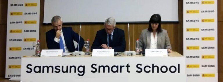 Presentación del informe de resultados Samsung Smart School del curso 2017-2018