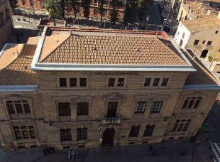 Fachada principal Colegio Cierva Peñafiel