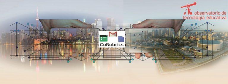 Corubrics: complemento a la evaluación mediante rúbricas