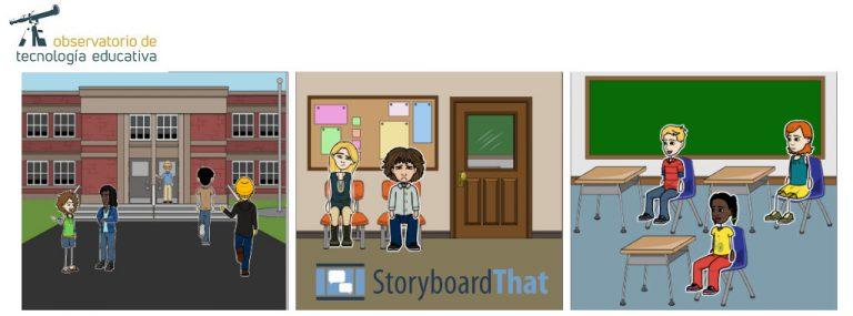 Storyboard That: El uso de guiones gráficos en el aprendizaje