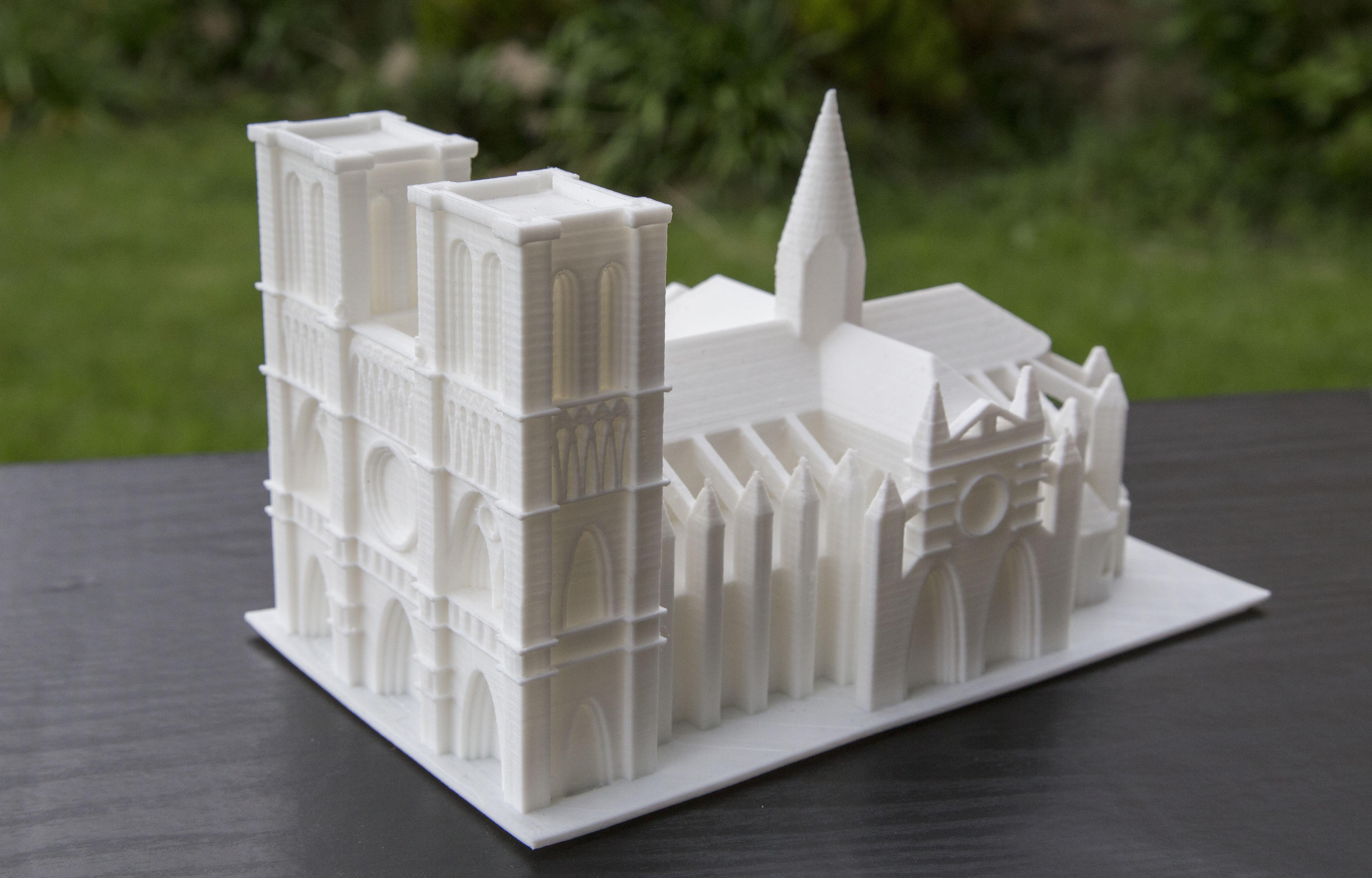 Resultado de la catedral en 3D