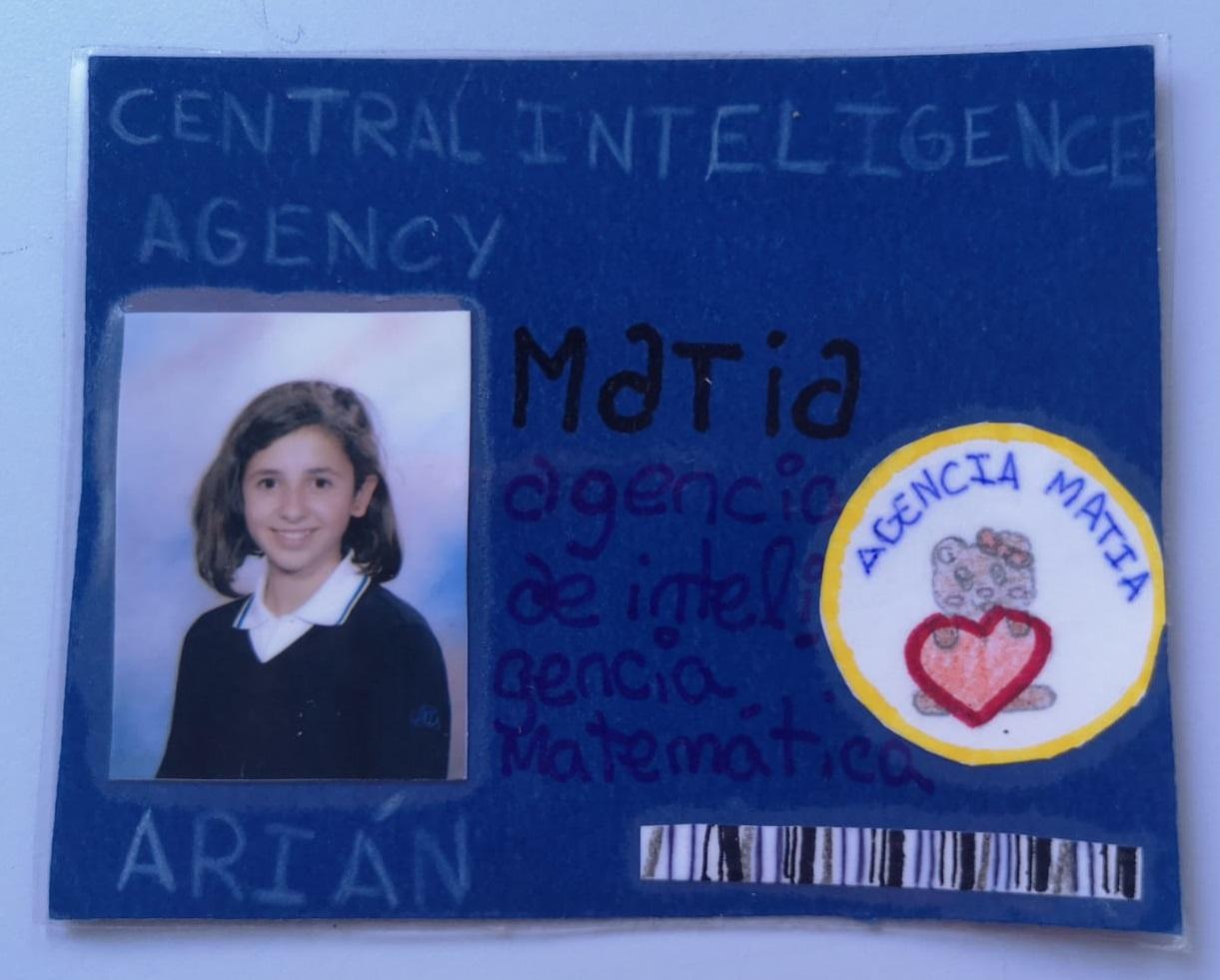 Carnet de Superagente MATIA