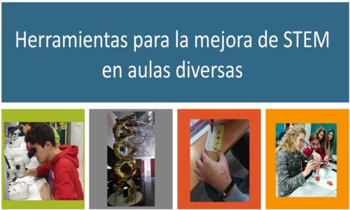 """Curso INTEF """"Herramientas para la mejora de STEM en aulas diversas"""""""