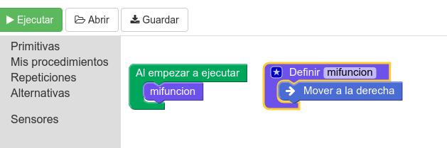 """Imagen 9. Concepto de función """"Mis procedimientos"""""""