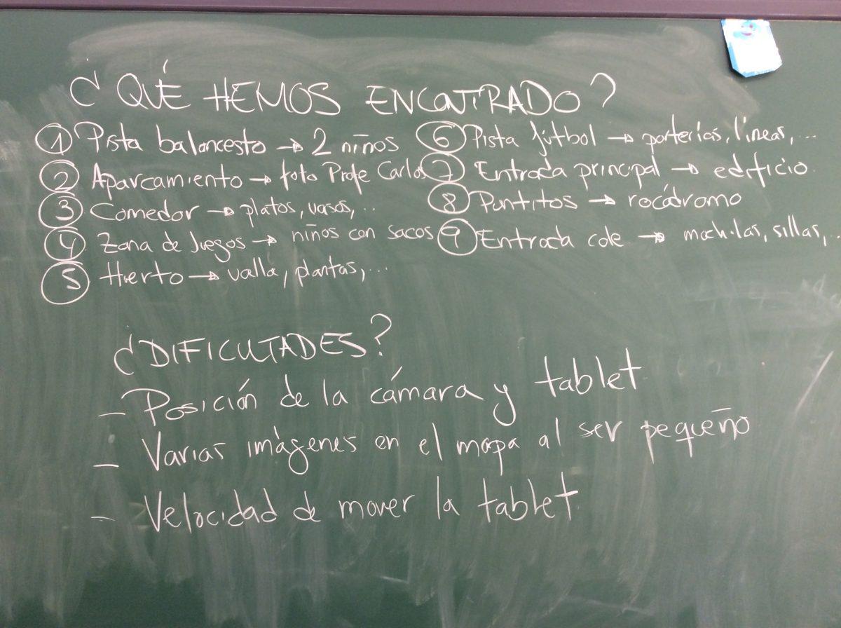 Compartimos resultados e impresiones con los alumnos en el aula