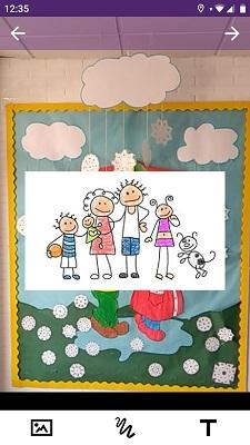 Imagen 5. Muro virtual de la familia
