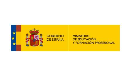logotipo Ministerio de Educación y Formación Profesional
