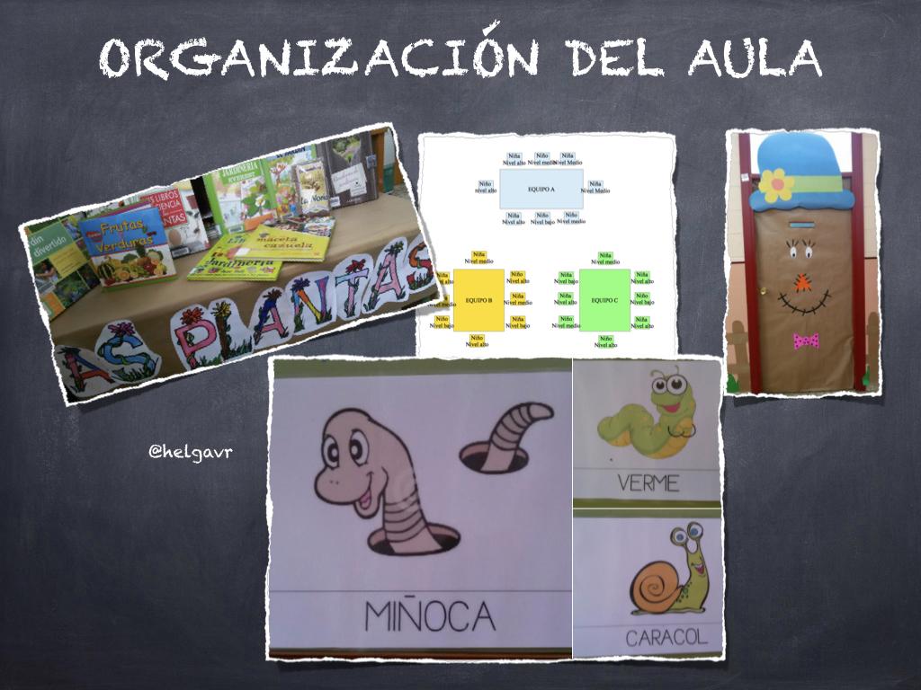Organización del aula.