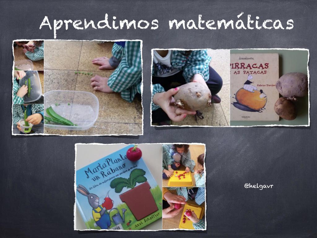 Juegos de lógica-matemática con las hortalizas.