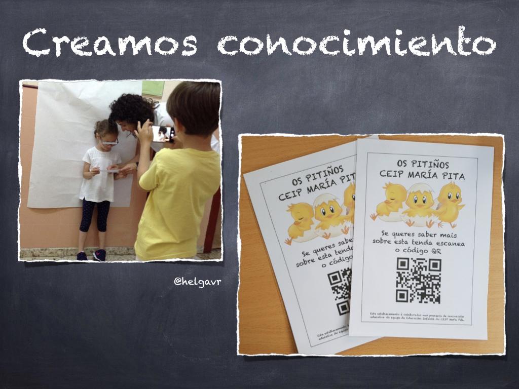 Elaboración de vídeos con nuestros conocimientos y aprendizajes sobre el mercado de abastos del barrio.