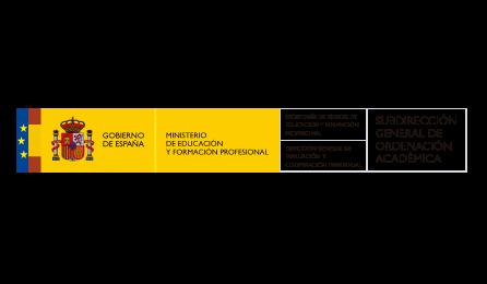 logotipo Subdirección General de Ordenación Académica