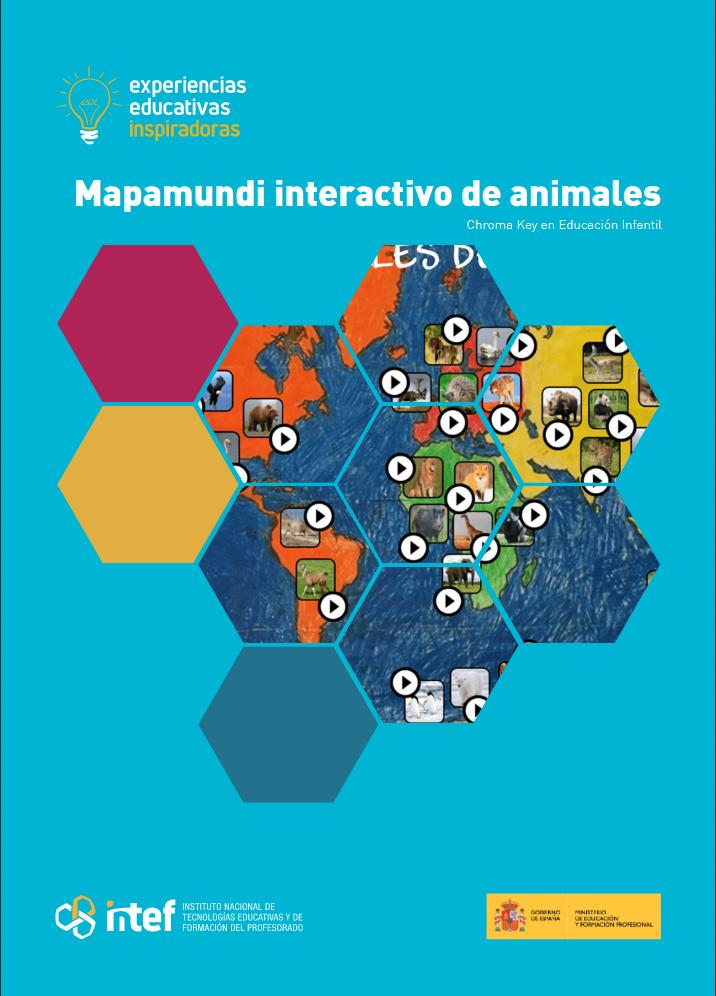 Portada de la Experiencia Mapamundi interactivo de animales