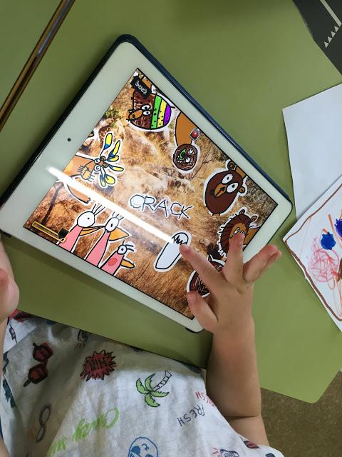 Recreación digital de un cuento creado con los dibujos de los niños y niñas de Educación Infantil del centro.