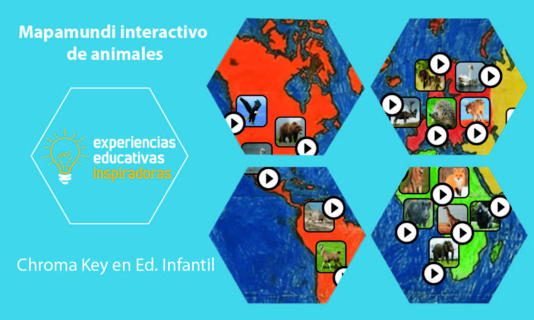 Experiencia Educativa Inspiradora: Mapamundi interactivo de animales